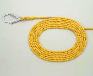 安全資材 親綱ロープ セーフロック
